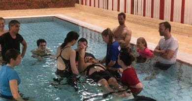 Ny drift i bassenget på ungdomsskolen