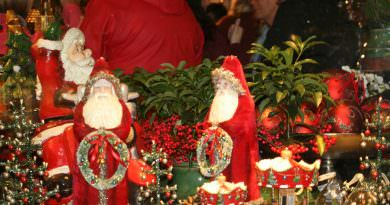 Blåklokken åpnet sin juleutstilling