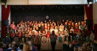 Juleforestilling på Sørhåland barneskole