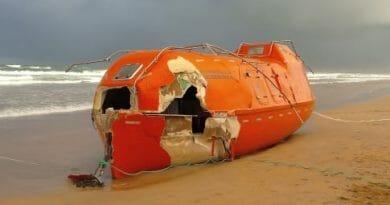 Livbåt fra SolstadFarstad funnet i Nord-Irland