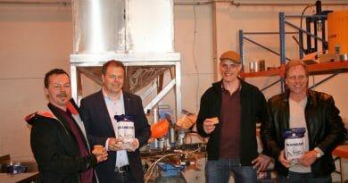 Verdensstjerne åpner fabrikk i Skudeneshavn