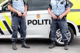 Trafikkontroll ved Skudeneshavn skole