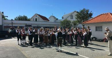 Tysk ungdomskorps til Skudeneshavn