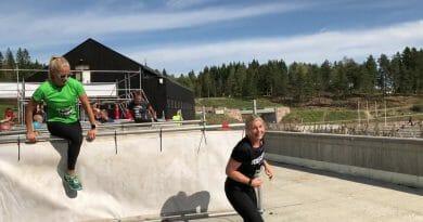 """Skudenesbuer deltok på hinderløpet """"Toughest"""" i Oslo"""