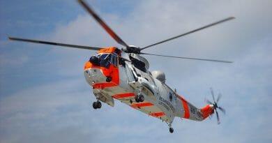 Stor helikopteraktivitet over Skudeneshavn