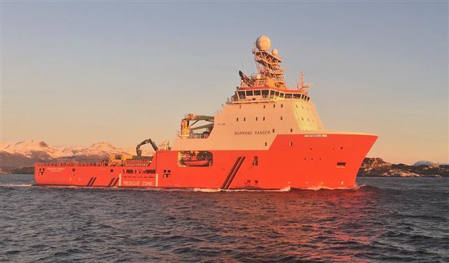 Solstad-båt med i redningsaksjon