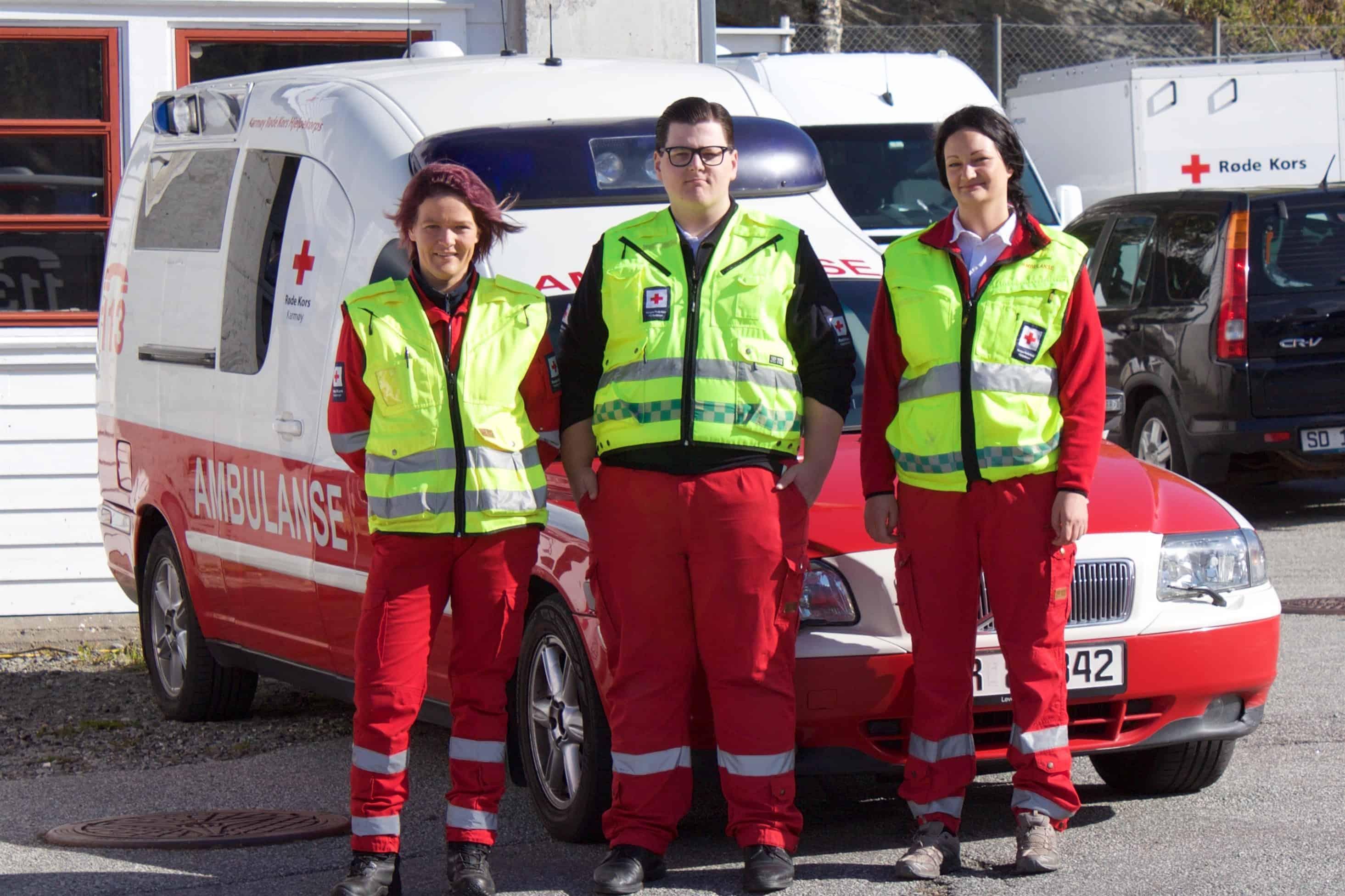 Har kurset ambulansepersonell i Skudeneshavn