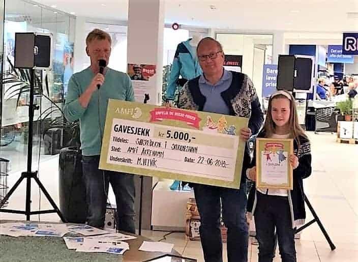 Sjøspeiderne vant 5.000 kroner