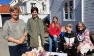 Åpnet kafeen på Husflidens dag