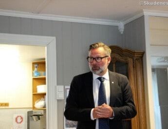 Ordføreren åpnet Blåkors kontaktstue (VIDEO)