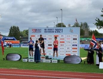 Løper fra Skudeneshavn sikret sitt fjerde NM-gull  (VIDEO)